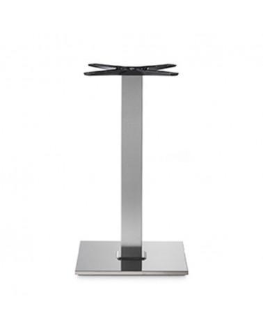 Asztalláb, asztallap, asztalbázis PE 400Q inox asztalbázis