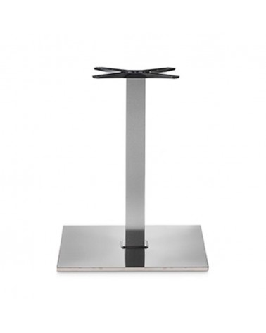 Asztalláb, asztallap, asztalbázis PE 400BQ inox asztalbázis
