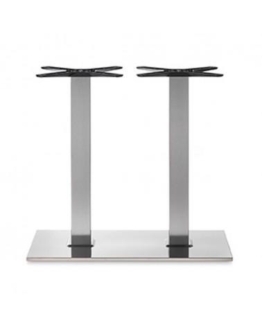 Inox, Rozsdamentes acél asztallábak, asztalbázisok PE 405Q inox asztalbázis