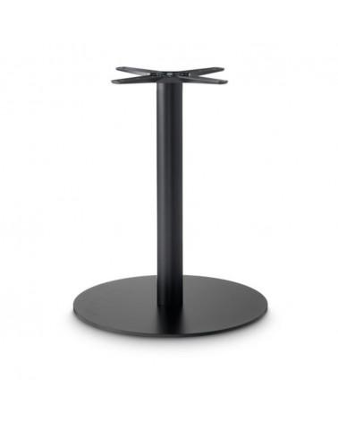 Öntöttvas, porszórt, éttermi asztallábak, asztalbázisok PE 020 fém asztalbázis