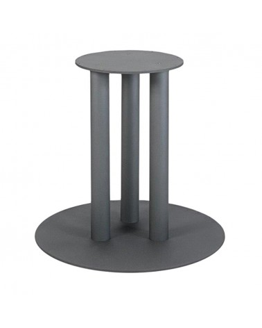 Öntöttvas, porszórt, éttermi asztallábak, asztalbázisok PE 081 fém asztalbázis