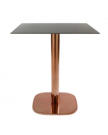 VE Rounded rozsdamentes acél asztalbázis