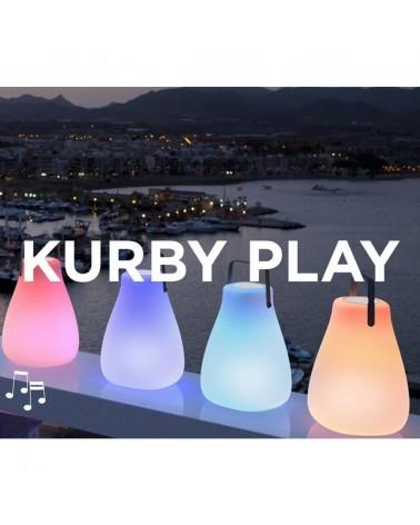 Kültéri lámpa NG Kurby play hangszóróval felszerelt lámpa