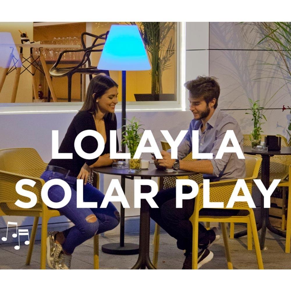 NG Lolayla hangszóróval felszerelt állólámpa