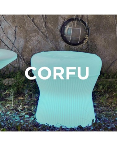 NG Corfu kültéri műanyag szék