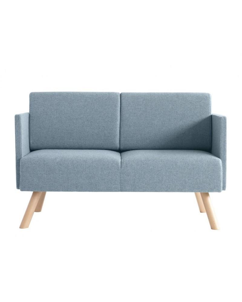 Fix Kanapék MO Nomad kétszemélyes karfás kanapé fa lábakkal