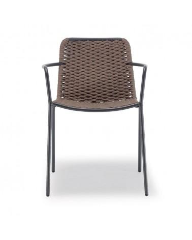 Kültéri fonott székek NI Cannes kültéri rattan szék