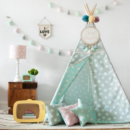 Sátrak LC Csillagos sátor gyerekeknek választható színben