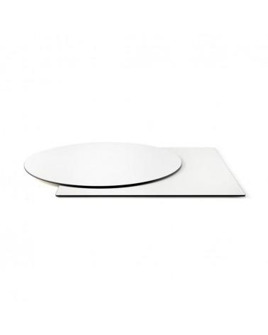 HPL / Compact kültéri asztallapok PF fehér HPL asztallap