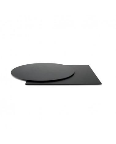 HPL / Compact kültéri asztallapok PF fekete HPL asztallap