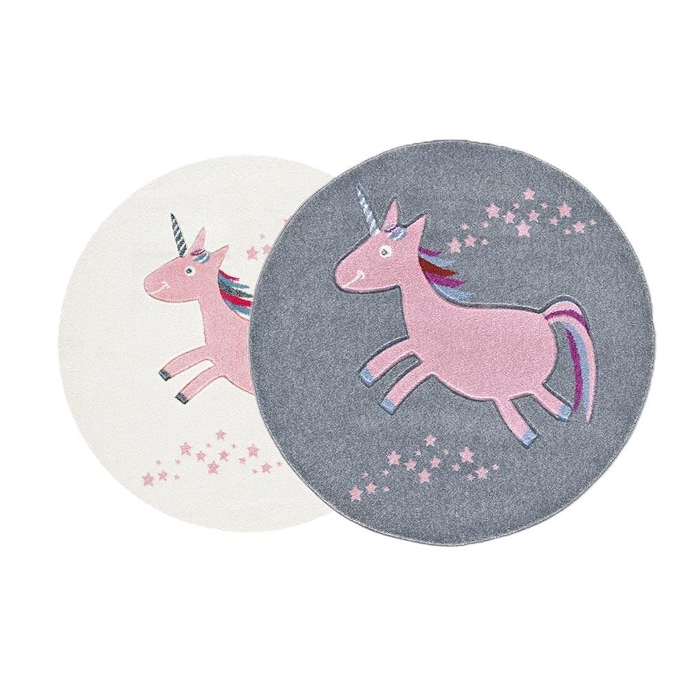 LE Unicorn kör alakú minőségi gyerekszőnyeg  választható színben