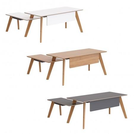 Íróasztalok, irodai asztalok PG Prémium Sandiss B íróasztal