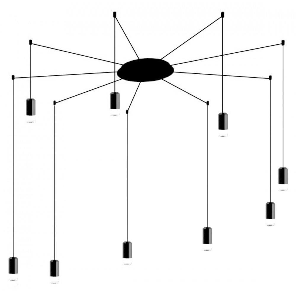 KH Flusso Arm 9 függőlámpa