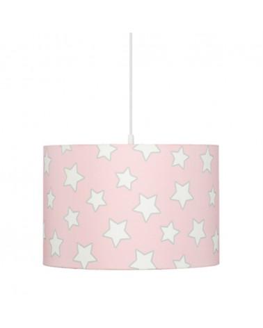 Gyereklámpa LC Csillagos függőlámpa gyerekeknek rózsaszín