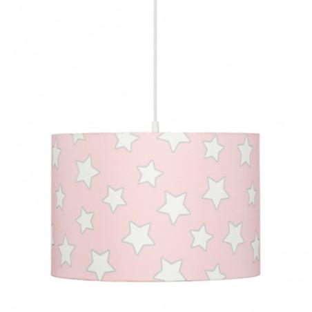 LC Csillagos függőlámpa gyerekeknek rózsaszín