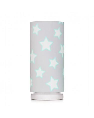 LC éjjeli lámpa szürke - csillag kollekció