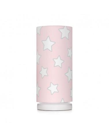 LC éjjeli lámpa rózsaszín - csillag kollekció
