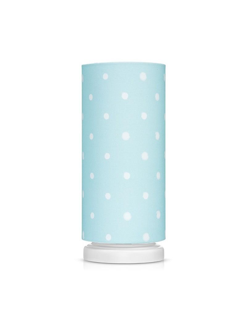 LC éjjeli lámpa kék - pöttyös kollekció