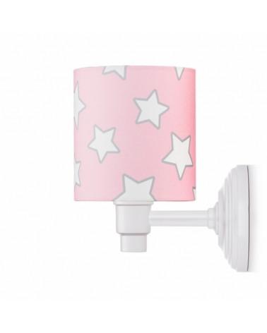 LC Falilámpa rózsaszín - csillag kollekció