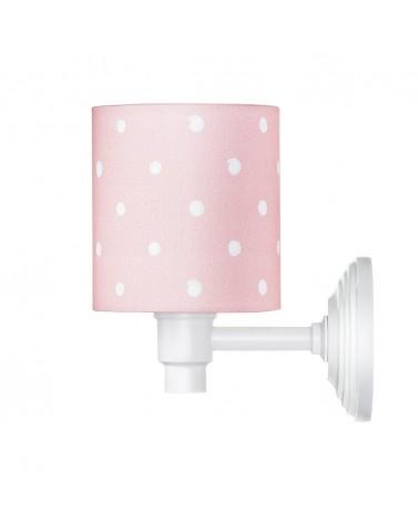LC Falilámpa rózsaszín - pöttyös kollekció