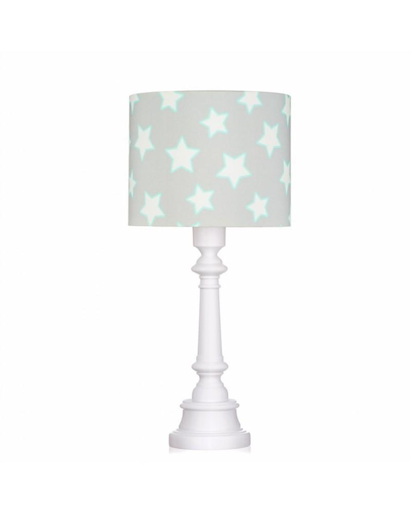 LC asztali lámpa szürke - csillag kollekció