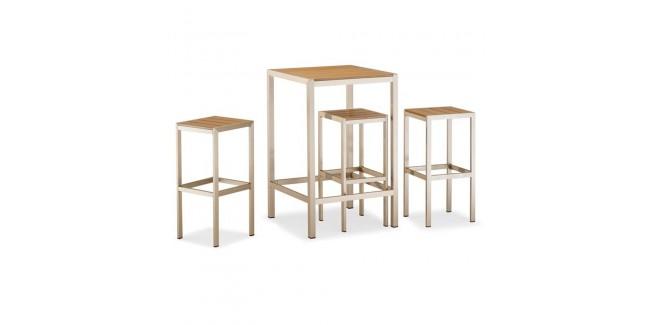 Kültéri asztalok, étkezőszettek NI 960/2 szett