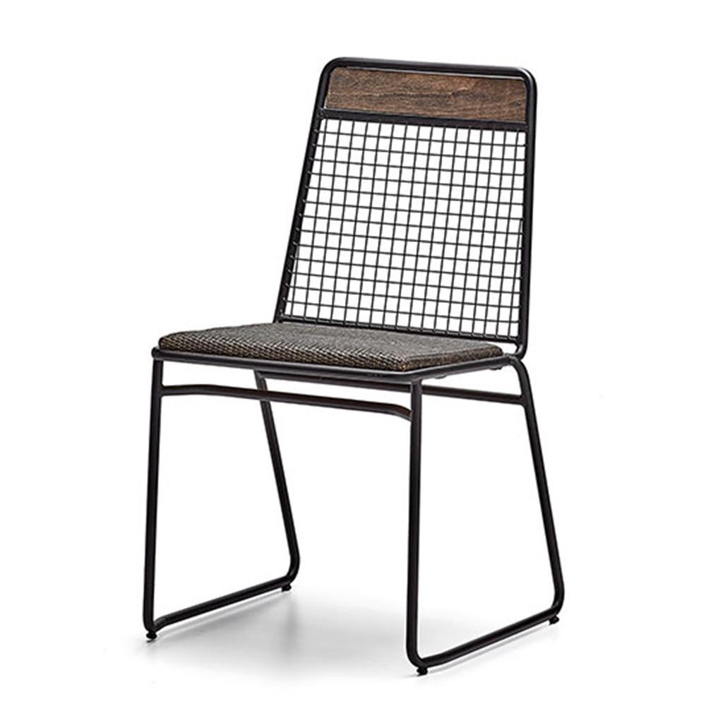 SR Blenc design fém szék