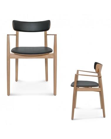 EG B-1803 katfás design fa szék