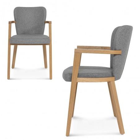 EG B-1807 katfás design fa szék