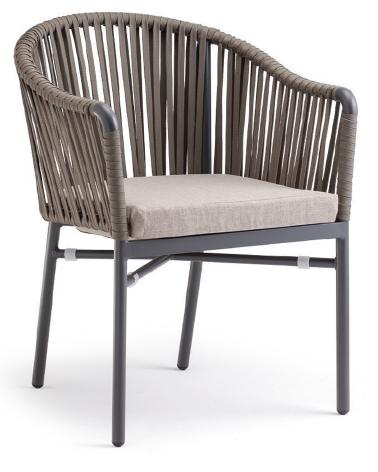 Kültéri fonott székek NI Monaco A karosszék