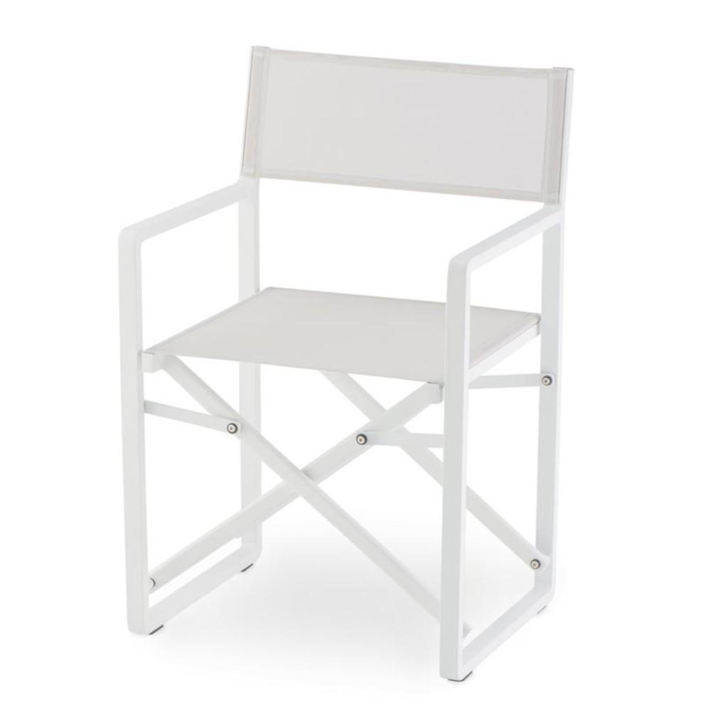 NI 945 fém rendezői szék