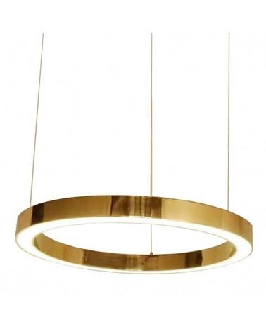 Függeszték KH Függesztett lámpa Ring arany - LED, acél