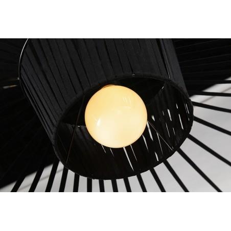 Függeszték KH Capello fekete függeszték design lámpa