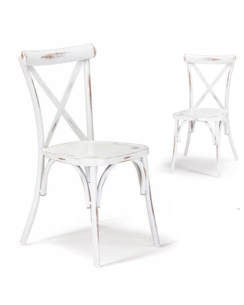 NI 972 koptatott fém szék