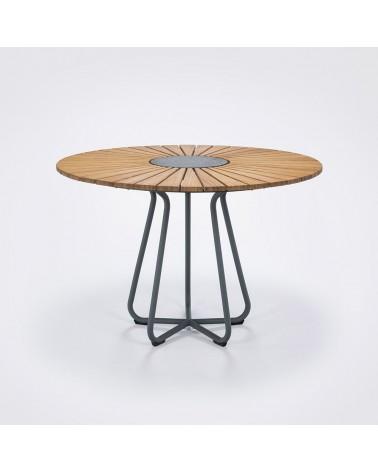 Kültéri asztalok, étkezőszettek HE Noah kör alakú kültéri asztal 110cm
