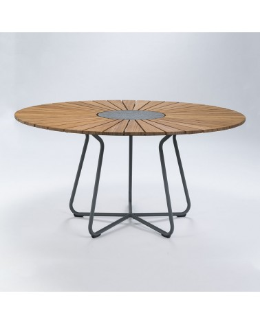 Kültéri asztalok, étkezőszettek HE Noah II kör alakú kültéri asztal 150cm