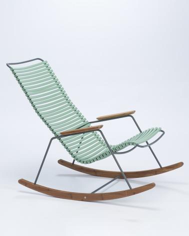 Kültéri fém székek HE Click hintaszék kültéri hintaszék választható színben