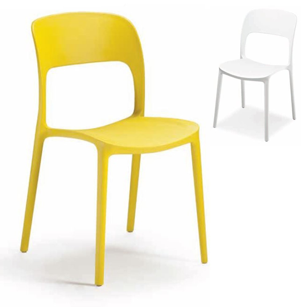 NI 1068 erősített műanyag szék