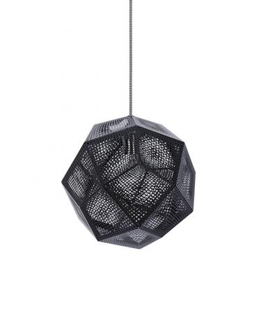Lámpák CM Etno replica design függeszték fekete színben