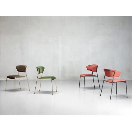 Szék SC Lisa karfás fémvázas szék, kiemelkedő minőségű