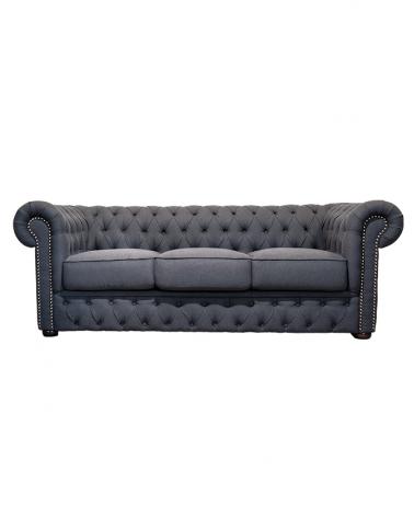 IM Chesterfield háromszemélyes kárpitozott kanapé