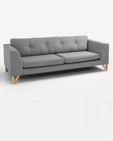 Fotelek, kanapék, lounge RM Willy háromszemélyes kanapé választható kárpittal