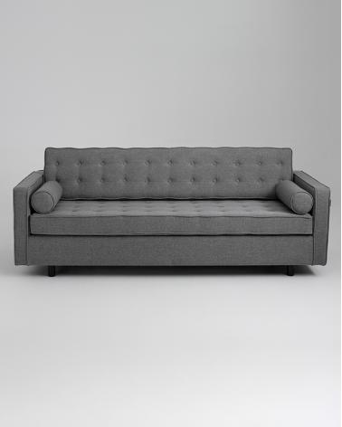 Fotelek, kanapék, lounge RM Topic háromszemélyes kinyitható kanapé választható kárpittal