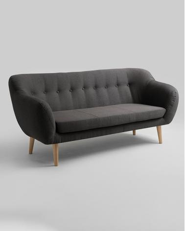 Fotelek, kanapék, lounge RM Marget kényelmes 3 személyes design kanapé választható kárpittal
