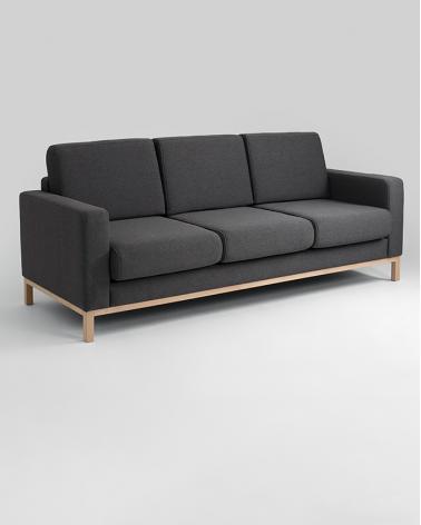 Fotelek, kanapék, lounge RM Scamdic elegáns 3 személyes design kanapé választható kárpittal