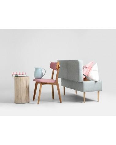 Fotelek, kanapék, lounge RM Edi II. puff választható kárpittal, pácolással