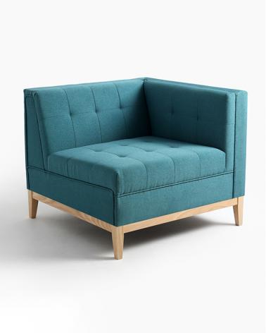 Fotelek, kanapék, lounge RM By-Tom Sarokelem választható kárpittal, pácolással