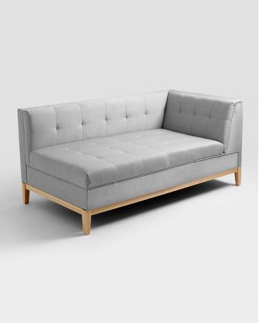Fotelek, kanapék, lounge RM By-Tom Lounge elem választható kárpittal, pácolással