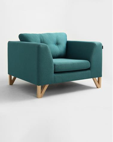 Fotelek, kanapék, lounge RM Willy kényelmes minőségi fotel, választható kárpittal
