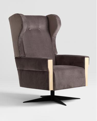 Fotelek, kanapék, lounge RM Leon kényelmes design fotel, választható kárpittal